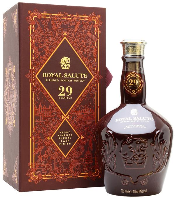 Royal Salute 29 Year Old Scotch